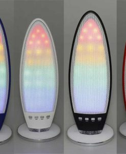 Wireless Mini Colorful LED Bluetooth Speaker CH-222D Rechargeable