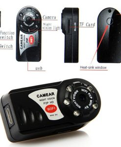 Wireless IP Camera night vision camcorder Video Recorder camera